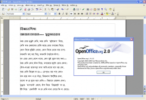 OpenOffice.org in Bengali